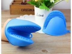 厨房硅胶防烫手套取盘夹微波炉隔热手套硅胶碗碟夹防烫隔热碗夹子
