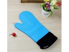 加长耐高温微波炉烤箱手套 硅胶防滑 烘焙隔热手套