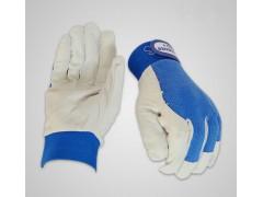 劳保羊皮作业手套防护工作搬运透气