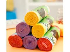 居家厨房必备彩色垃圾袋连卷彩色一次性垃圾袋