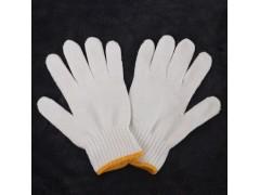 劳保手套棉纱工作手套耐磨线手套防护手套劳动手套工地干活手套厚