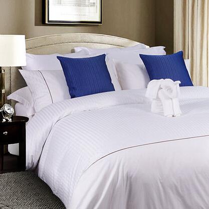 MURCIA五星级酒店四件套 正品纯棉贡缎被套被罩床单纯色全棉床品