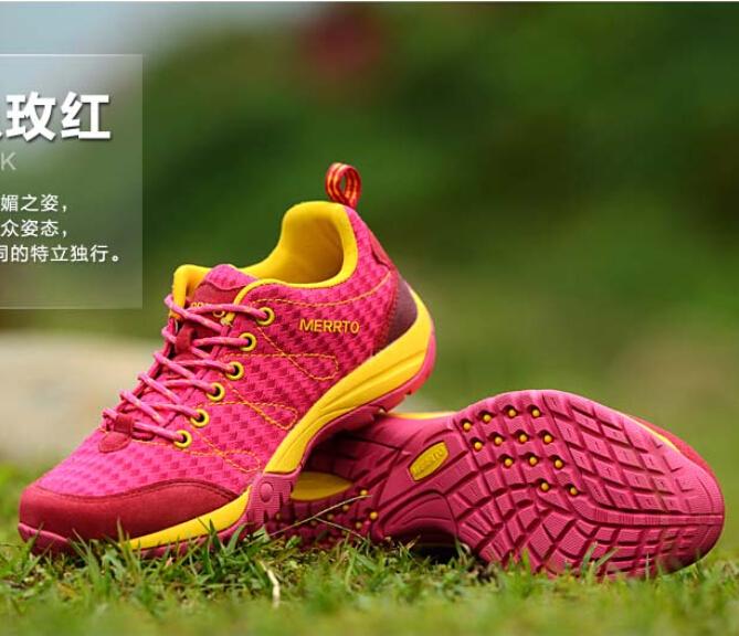 迈途户外登山鞋徒步低帮男鞋运动休闲鞋旅游鞋女鞋