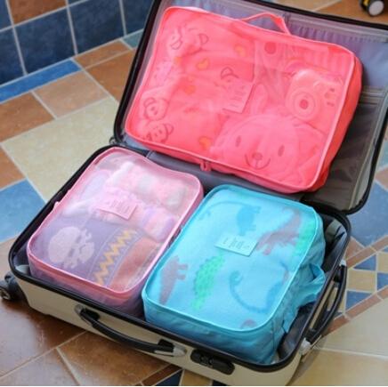 旅行收纳袋套装行李箱收纳袋衣物整理袋旅游衣服内衣收纳包