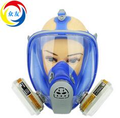 防毒防尘面具防雾全面罩喷漆打磨可配3M滤毒盒粉尘口罩