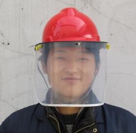 防护工作劳保专用防风沙防飞溅防护防雨打磨弹簧面罩