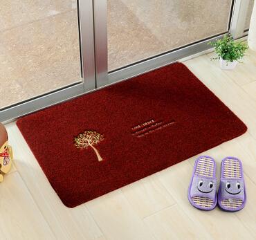 低价超薄卡通客厅卧室进门地垫门口防滑蹭土地毯入户门厅门垫脚垫