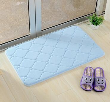 记忆棉慢回弹地垫卫生间地毯防滑垫浴室吸水垫门垫脚垫子