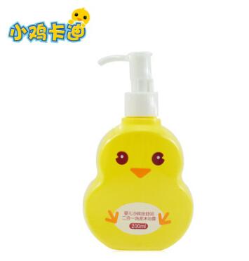 小鸡卡迪宝宝婴儿儿童二合一洗发沐浴露200ml