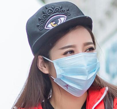 一次性卡通无纺布口罩印花防尘防护三层加厚pm2.5口罩