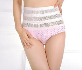 高腰塑身裤瘦身恢复网眼内裤