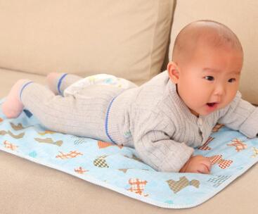 纯棉尿垫全棉婴儿隔尿垫防水床垫50*70