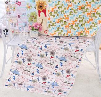 纯棉婴儿3层夹棉宝宝尿垫大号防水隔尿垫