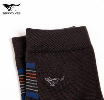 七匹狼商务休闲袜男袜子