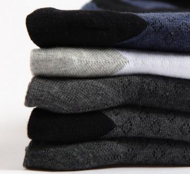 七匹狼袜子秋冬中厚中筒男袜