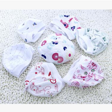 婴儿帽 胎帽 0-3个月新生儿帽子宝宝帽子单层