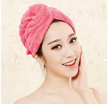 竹天帛干发帽 加厚吸水浴帽擦头发速干毛巾包头巾