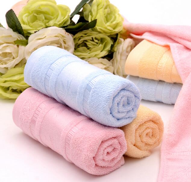 竹纤维毛巾加厚超柔洗脸竹纤维面巾婚庆回礼劳保洁面美容手巾