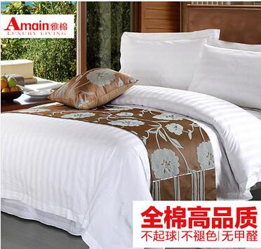 雅棉四件套床品套件床上用品全棉舒适4件套 纯棉 五星级酒店套件