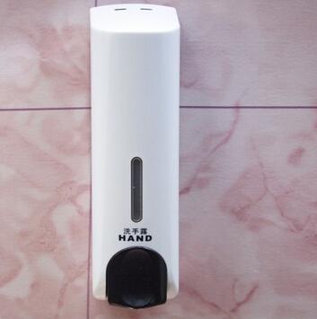 单头皂液器挂壁 二合一皂液盒 皂液瓶 洗手液器 沐浴液盒
