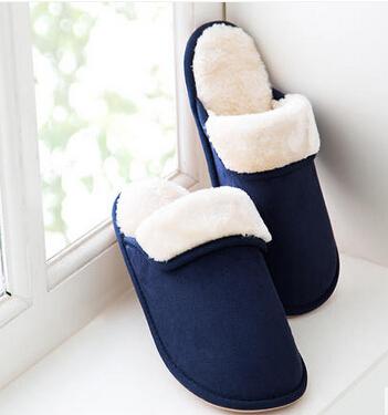 居家保暖拖鞋男女士 家居室内防滑情侣冬天拖鞋
