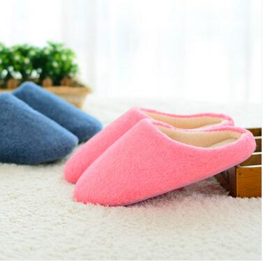 居家居客厅木地板男女室内静音无声卧室软底棉拖鞋
