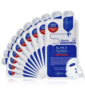 韩国美迪惠尔原可莱丝水润保湿面膜10片装补水保湿正品