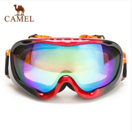 骆驼户外滑雪镜冬季户外运动专业用品滑雪眼镜
