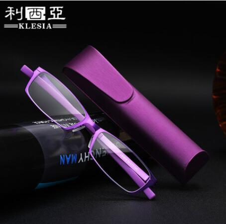 超轻防蓝光抗疲劳老花镜男女式高清便携时尚花镜优雅舒适老花眼镜