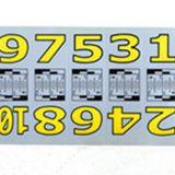 物证标记号码