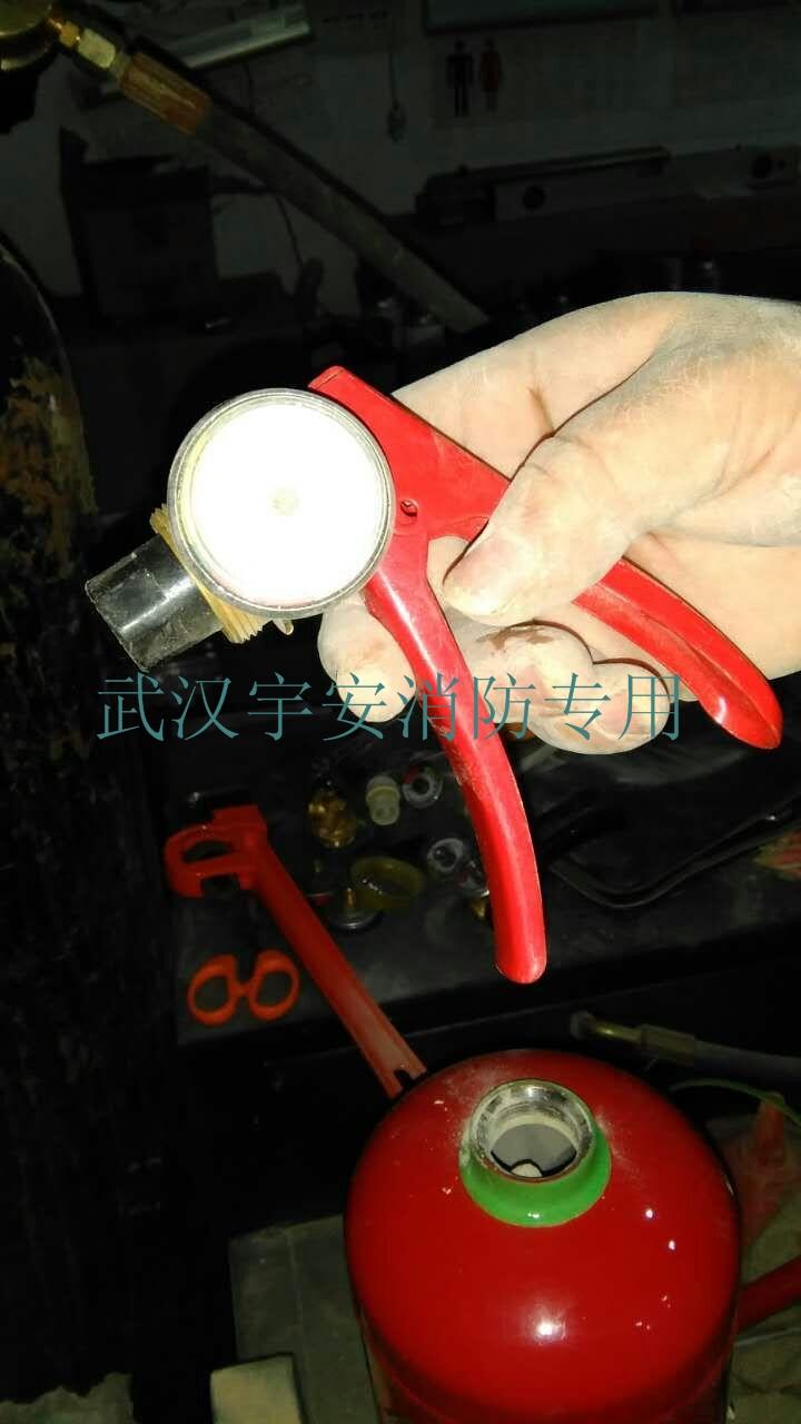 武汉灭火器专业换粉、加压,武汉宇安消防灭火器年检、维保