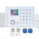 家用触摸屏防盗报警器 家用手机卡防盗器 红外线智能家庭安防报