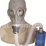 唐人TF1A型头盔式自吸式过滤防毒面具