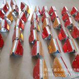 轮廓标梯双面波形护栏配件热镀锌诱导标反光标