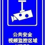 厂家批发供应销售公共安全视频监控区域指示牌