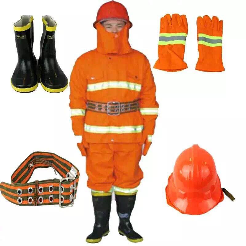 质量好的97款消防战斗服 阻燃服火灾战斗服/消防服五件套