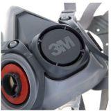 3M6200防毒面具主体 防尘防雾霾 双罐式面罩不可单独使用