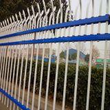 锌钢护栏|带弯防攀爬护栏|房地产组装防盗围墙护栏河南栏杆厂