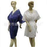 一次性浴袍 无纺布浴衣 桑拿服 和服 男女通用 加厚