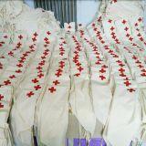 急救厂家现货医用纯棉三角巾 三角巾绷带急救红十字印刷带绑带系