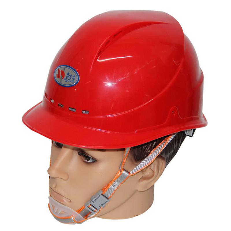 劳来斯安全头盔高强度ABS工程安全帽工地施工透气五色可印字