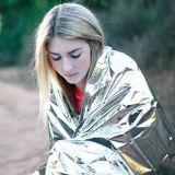 野外生存用品户外急救毯救生毯保暖求生保温毯地震救援应急毯装备