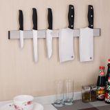 创意欧式304不锈钢磁石刀架3M强力厨房菜刀收纳架
