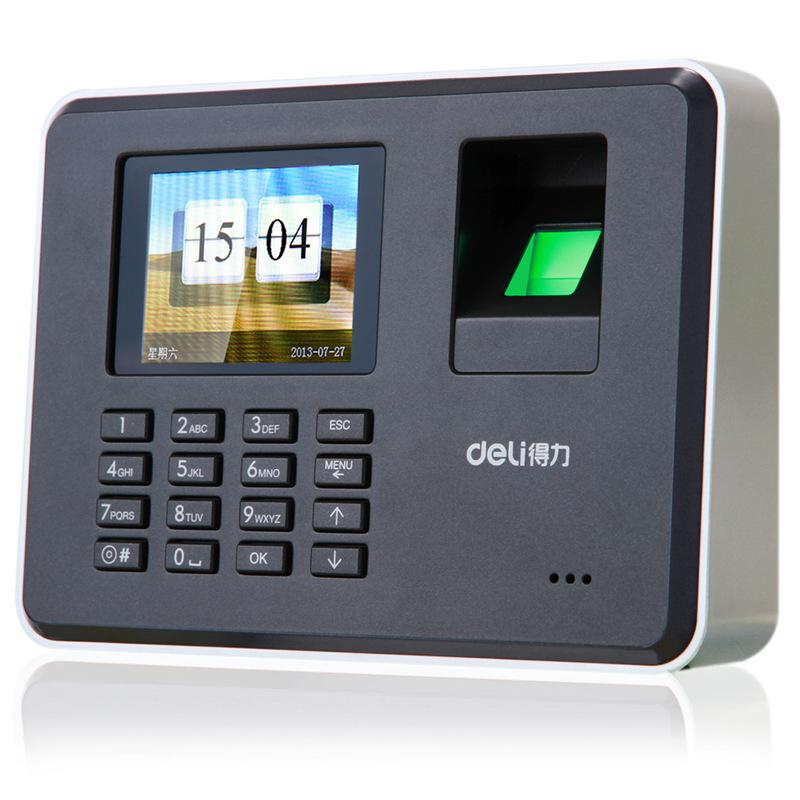 Deli办公用品 得力指纹考勤机3947 2000枚指纹机