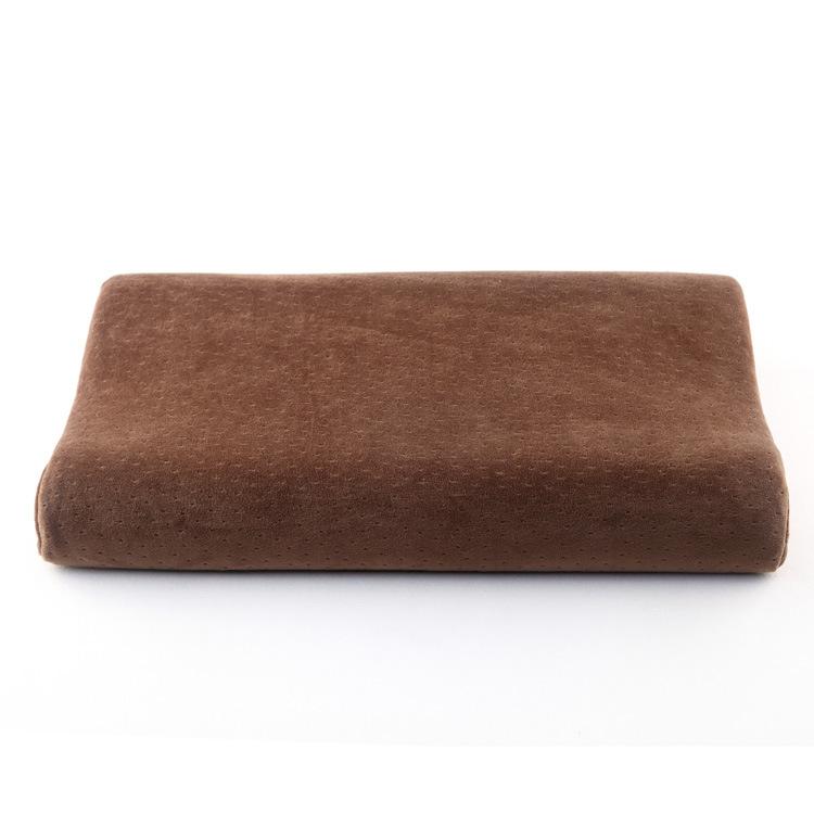 太空记忆棉中老年人颈枕 劳保枕 保健零压力枕护颈成人学生枕