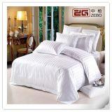 酒店床上用品四件套 加厚涤棉缎条床单被套 酒店布草批发定做