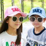 厂家直销 韩版新款春夏季儿童户外遮阳帽儿童棒球帽可来图定制