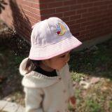 2017春夏季新款儿童帽子遮阳渔夫帽可爱卡通棉质户外宝宝盆帽