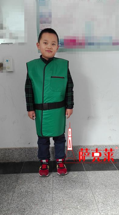 儿童x射线防护服、防辐射铅帽、铅围领请认准济南萨克莱射防护