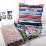 乾顶 定制抱枕被子两用多功能靠垫 被子 夏季空调被棉麻毯子